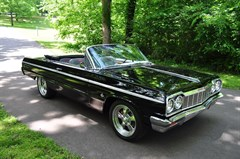 A 1964 Chevrolet Impala Convertible SS