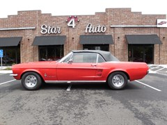 A 1967 Ford Mustang Convertable