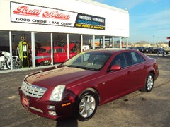 A 2005 Cadillac STS
