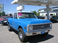A 1972 Chevrolet 1500