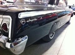 A 1962 Chevrolet Impala Hardtop Coupe
