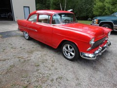 A 1955 Chevrolet Bel Air Coupe