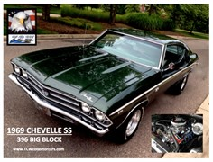 A 1969 Chevrolet Chevelle Ss Coupe 2 Dr.