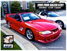 A 1996 Ford Mustang GT/Saleen S281 Speedster