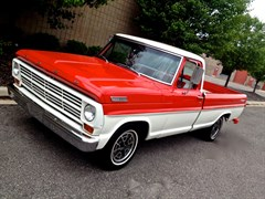 A 1968 Ford Ranger 100 2 Dr. Truck