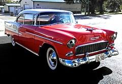 A 1955 Chevrolet Hardtop Coupe 2 Door
