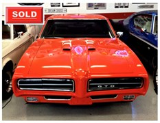 A 1969 Pontiac Gto Judge Coupe 2 Dr.