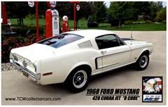 A 1968 Ford Mustang Fastback 428 Cobra Jet 2 Door - R Code