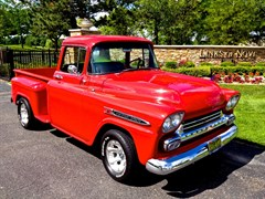 A 1959 Chevrolet Apache Step-Side