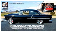 A 1955 Chevrolet 210 Coupe 2 Dr.