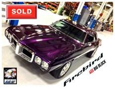A 1969 Pontiac Firebird 455 Big Block 2 Dr.