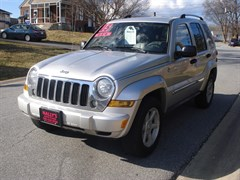 A 2007 Jeep Liberty SPORT