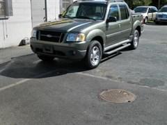 A 2001 Ford Explorer SPORT
