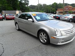 A 2007 Cadillac STS