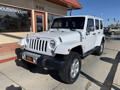 A 2014 Jeep Wrangler Unlimited S Sahara