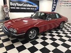 A 1986 Jaguar XJS