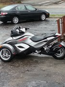 A 2011 Can-am Spyder Rs