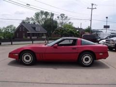 A 1985 Chevrolet Corvette