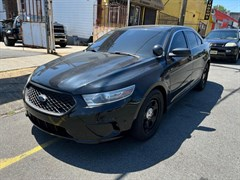 A 2013 Ford Taurus POLICE INTERCEPTOR