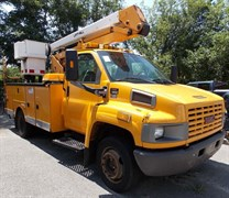 Used 2003 GMC C4500 Bucket