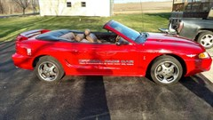 A 1994 Ford Mustang COBRA