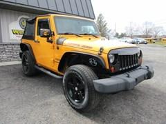 A 2012 Jeep Wrangler SPORT 4X4