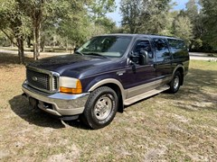 A 2001 Ford Excursion LIMITED