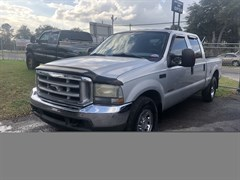 A 2004 Ford F250 SUPER DUTY