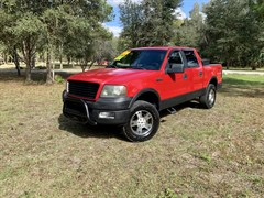 A 2005 Ford F150 SUPERCREW