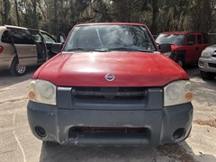 A 2003 Nissan Frontier CREW CAB XE