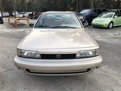 A 1991 Toyota Camry DLX