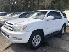 A 2005 Toyota 4runner LIMITED