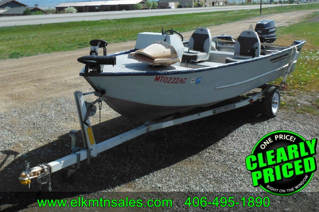 For sale 1988 lowe lunker 16 ft at elk mountain for Trolling motor for 18 foot boat