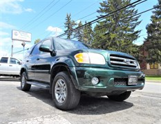 A 2003 Toyota Sequoia LIMITED