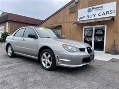 A 2006 Subaru Impreza 2.5I