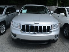 A 2011 Jeep Grand Cherokee LAREDO