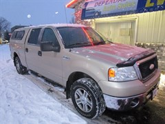 A 2007 Ford F150 XLT