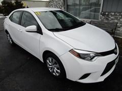 A 2014 Toyota Corolla LE
