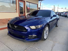 A 2016 Ford Mustang GT
