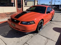 A 2004 Ford Mustang MACH I