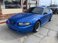 A 2000 Ford Mustang GT