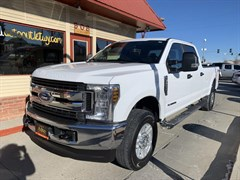 A 2018 Ford F250 SUPER DUTY