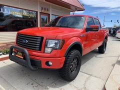 A 2011 Ford F150 SUPERCREW