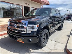 A 2014 Ford F150 SUPERCREW
