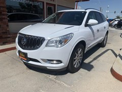 A 2017 Buick Enclave Leather