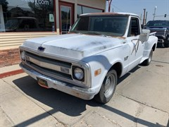 A 1969 Chevrolet C10 FLATBED